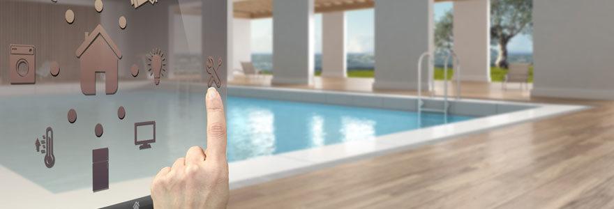 traitement automatisé des eaux de piscine